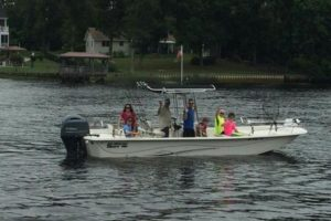 "Our boat ""Go Fish' for inshore North Myrtle Beach fishing charters."